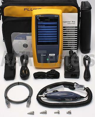 Fluke Networks FI-7000 FiberInspector Pro Fiber Inspection Kit Versiv FI-1000