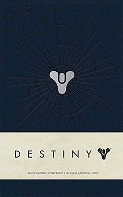Destiny Hardcover Blank Journal Bungie Pocket Books Anglais 192 pages Relie