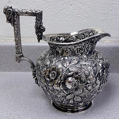 Antique Jacobi & Jenkins Sterling Silver Pitcher