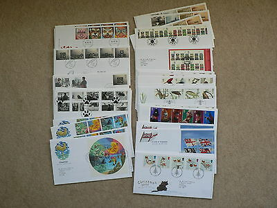 2001 Royal Mail First Day Covers - Sold Individually - Various, FDC
