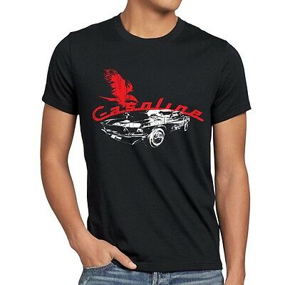 Muscle Car Herren T-Shirt auto gas death mustang motor ford rocker camaro ps usa