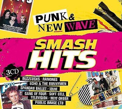 SMASH HITS PUNK & NEW WAVE  3 CD (New Release 23rd June 2017)