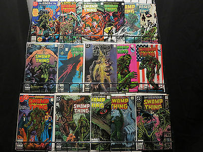 Swamp Thing Vol.2 (1982),Lot of 61,ALAN MOORE!!  BISSETTE!! F-VF/+ 1-159 classic
