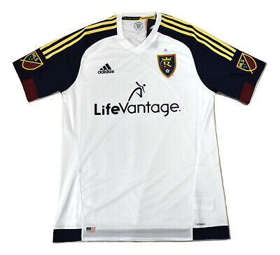 ADIDAS MLS MENS Real Salt Lake Soccer Jersey NWT M db5157b69