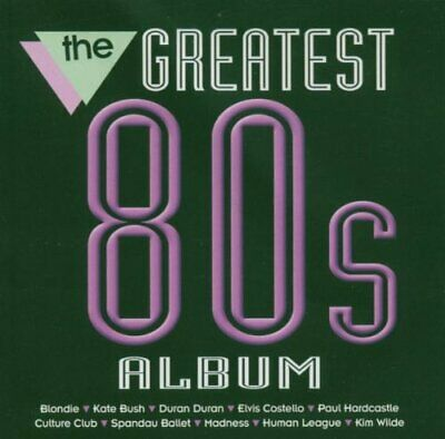 Various Artists - The Greatest 80's Album - Various Artists CD HYVG The Cheap