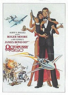 2017 James Bond Archives Final Edition Octopussy Throwback Card Set Of 32 Cards!