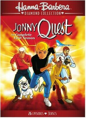 Jonny Quest: The Complete First Season [New DVD] 3 Pack, Amaray Case, Repackag
