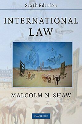 International Law by Shaw, Malcolm N. Paperback Book The Cheap Fast Free Post
