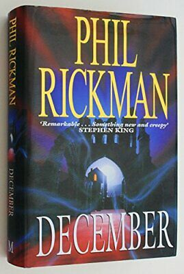 December by Rickman, Phil Hardback Book The Cheap Fast Free Post