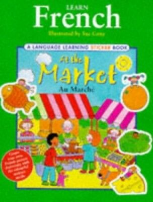 Learn French: At the Market (Language Learning Sticker... Other book format Book