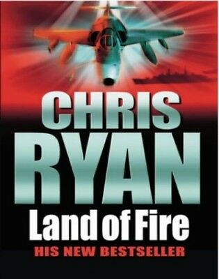 Land of Fire by Ryan, Chris Hardback Book The Cheap Fast Free Post