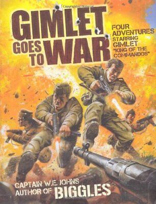 Gimlet Goes to War by W.E. Johns Paperback Book The Cheap Fast Free Post