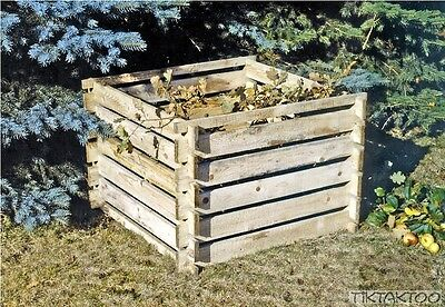 Composter Wood Container Bin Plug