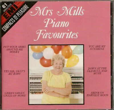 Mrs Mills - Piano Favourites - Mrs Mills CD C9VG The Cheap Fast Free Post The
