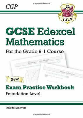 GCSE Maths Edexcel Exam Practice Workbook: Foundation - for the... by Books, Cgp