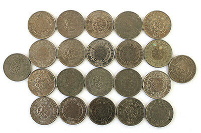 Lot Of Twenty-Two (22) 10 Sentimos Coins From The Philippines Dated 1977-1982