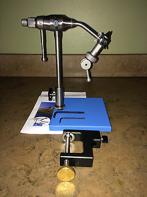 ATLAS ROTARY VISE - pedestal & C-Clamp w/ discount tool offer - Fly Tying