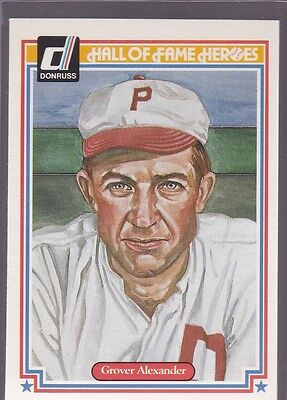 1983 Donruss Hall Of Fame Heroes Grover Cleveland Alexander #23 Nmmt/Mint *53183