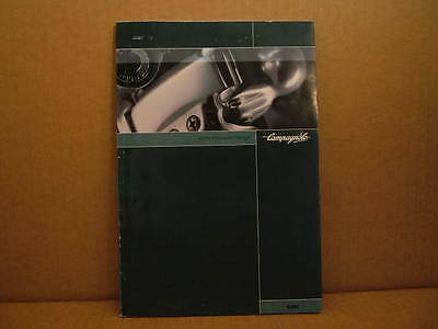"2004 Campagnolo ""Campy"" Catalog (6"" x 8"" and 129 Pages)"