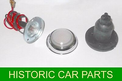 2 CLEAR SIDE LAMPS for MORRIS SIX SERIES MS 1951-54 replace Lucas L489