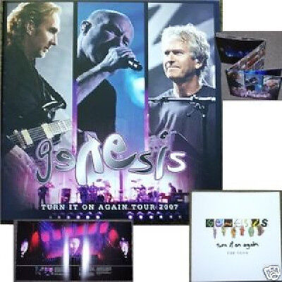 Genesis Turn It On Again 2007 Tour Book Program New Rare Mint Phil Collins Band