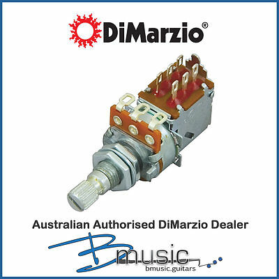 NEW DiMarzio EP1201PP 500K Push/Pull Pot - High quality and smooth reliability
