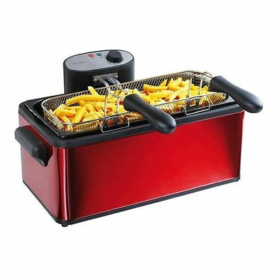 DOMOCLIP - Friteuse 2 paniers 6 L DOC149 NEUF