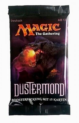Düstermond Booster deutsch - Magic the Gathering MtG Boosterpackung m. 15 Karten