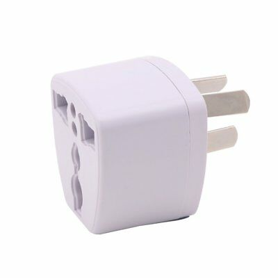UK US EU Universal to AU 3 pin AC Power Plug Adapter Travel Converter Australia