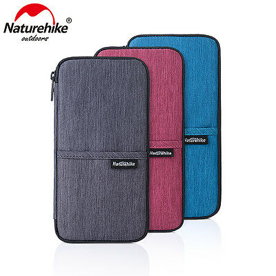 Travel Passport Credit ID Card Cash Holder Organizer Wallet Purse Case Bag Pouch