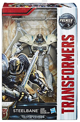 Transformers The Last Knight Premier Movie Deluxe Steelbane Action Figure NEW