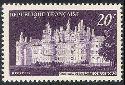 France 1952 Chambord Chateau/Buildings/Trees/Plants/Nature/Heritage 1v (n43237)
