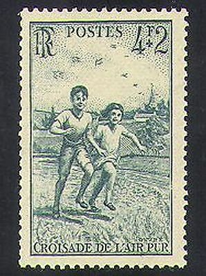 France 1945 Fresh Air Campaign/Health/Welfare/Children/Animation 1v (n36911)