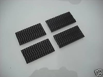 3M Dual Lock Heavy Duty Fastener Sticky Pads Black 8 Pack