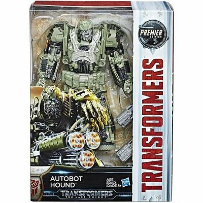 Transformers The Last Knight Premier Movie Voyager Hound Action Figure NEW