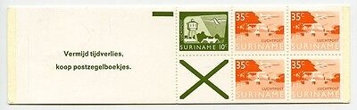 SURINAME 1976-78 Air MNH ** Booklet Aviation Airmail Planes #2