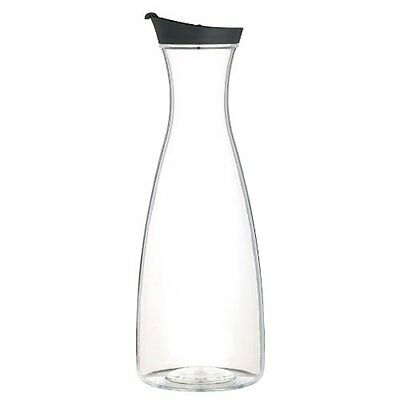 Kitchen Craft Juice Jug, Transparent/Black, 1.7 Litre