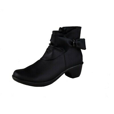 Lisanne Comfort Ladies Ankle Boots Black BIX