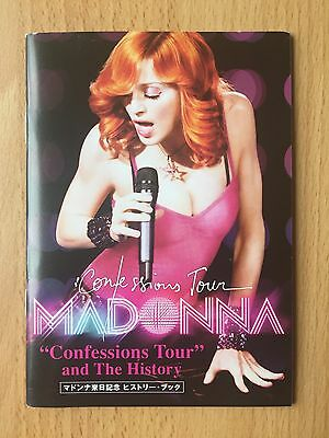 Madonna Confessions Tour + The History Japanese / Japan Promo Booklet