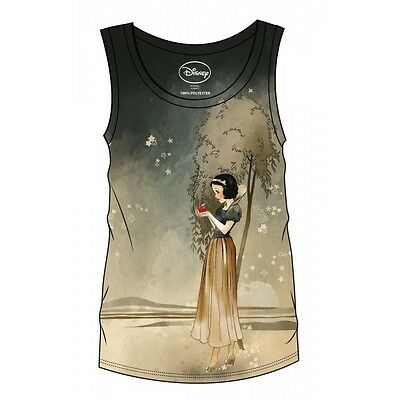 Snow White and the Seven Dwarfs Sublimation Girlie Tank Top Snow Wh Taglia L