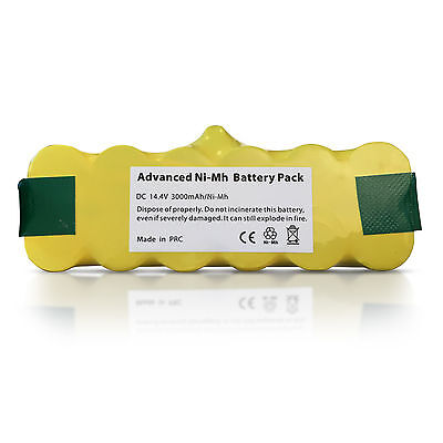 RECHARGEABLE BATTERY FOR iROBOT Roomba 550, 552, 555, 560, 562 VACUUM HOOVER etc