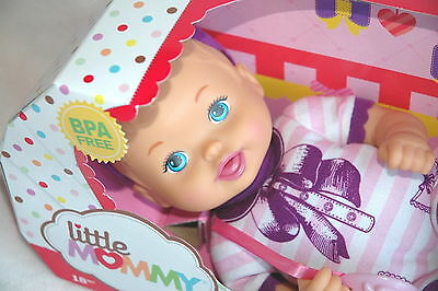 Fisher Price Little Mommy BABY SO NEW *NIP* Bowtie Baby Doll with Pacifier