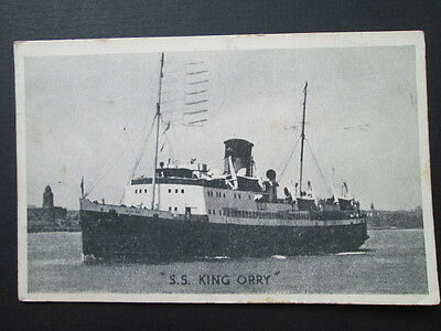 S. S. King Orry, Passenger Ferry, Isle Of Man - Unknown Publisher (1946)