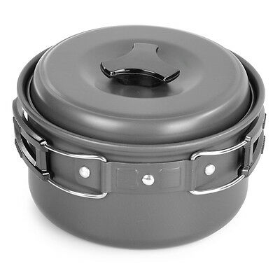 Portable Sunfield Outdoor Camping Picnic Cooking Pot for Single People