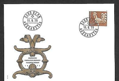 Switzerland 1975 First Day Cover #577, Cock Weather Vane !!