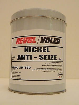 WINTER OFFER 500g REVOL NICKEL ANTI-SEIZE GREASE, NICKEL - ALUMINIUM - GRAPHITE