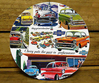 190MM x 5MM CLOCK FACE - 1957 CHEVY