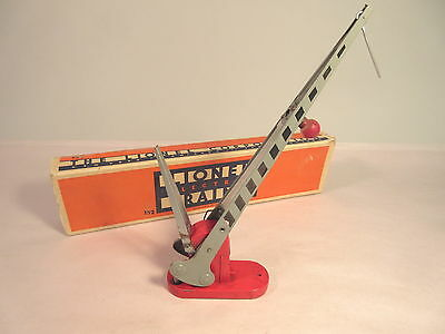 Lionel 152 Crossing Gate Gray Ob Prewar O-Gauge #x2567
