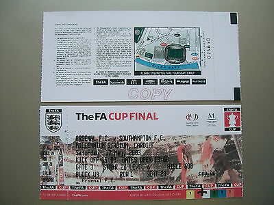 2003 F.A. Cup Final Ticket Southampton v Arsenal mint condition.