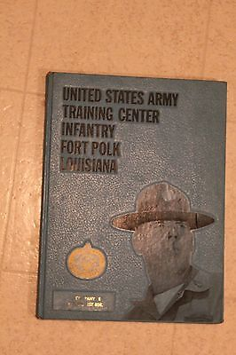 Infantry US Army Training Center Fort Ft. Polk Louisiana 1972 Yearbook 4th Bat E